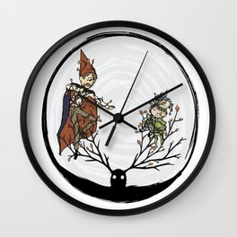 Ensnared Wall Clock