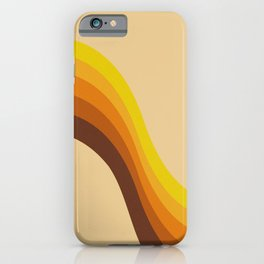 70s Color Palette iPhone Case