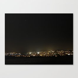 Baumholder at Night Canvas Print