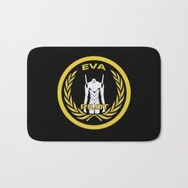 Evangelion Pilot Logo Bath Mat