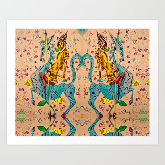El Don Art Print