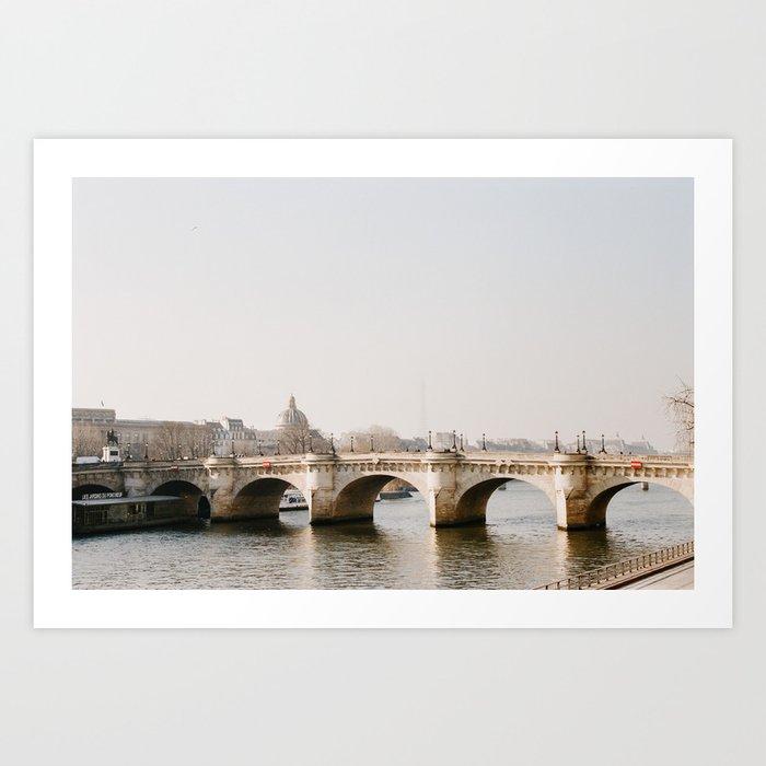 Bridge over the Seine - film Kunstdrucke