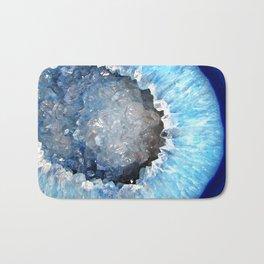 Blue Crystal Geode Bath Mat