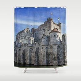 Ghent castle Shower Curtain