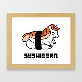 Sushicorn Framed Art Print