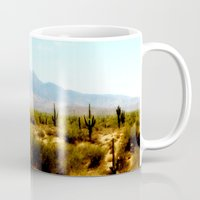 southwest Mugs featuring Painterly Southwest by Mister Groom