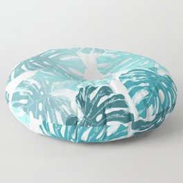 Blue romance Floor Pillow