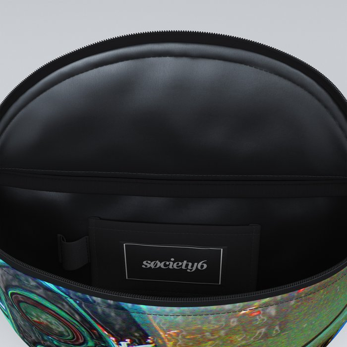 Psychedelic Car Fanny Pack