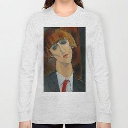 "Amedeo Modigliani ""Madame Kisling""(1917) Long Sleeve T-shirt"