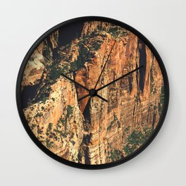 Route to Angel's Landing Wall Clock