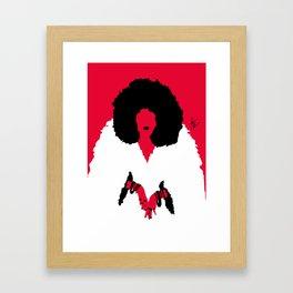 Furrella De vil Framed Art Print