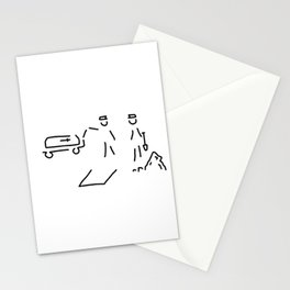 burial funeral parlour Stationery Cards