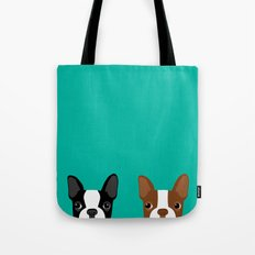 Boston Terriers Tote Bag