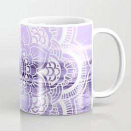 Water Mandala Lavender Coffee Mug