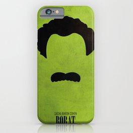 Borat - Minimal iPhone Case