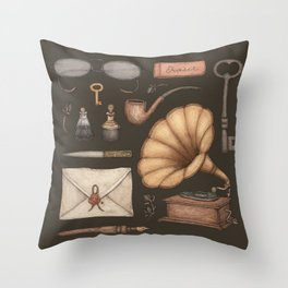 A Sophisticated Assemblage Throw Pillow