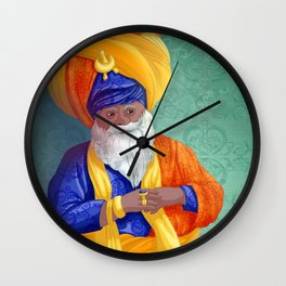 indian sultan Wall Clock