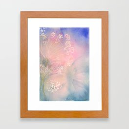 Lacey Evening Framed Art Print