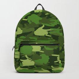 Handy Camo GREEN Backpack