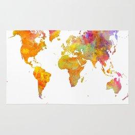 world map 23 Rug