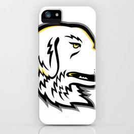 Great Pyrenees Dog Mascot iPhone Case