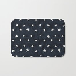 Midnight Starlet Bath Mat