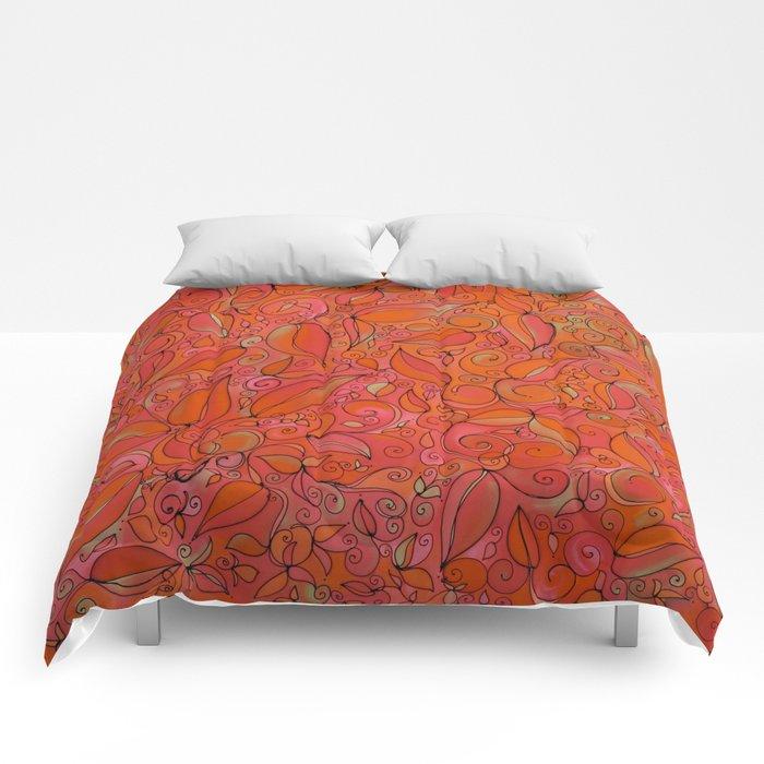 RED LEAF Comforters