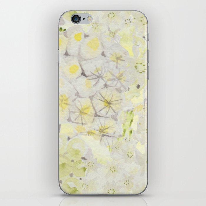 Lemon Abstract iPhone Skin