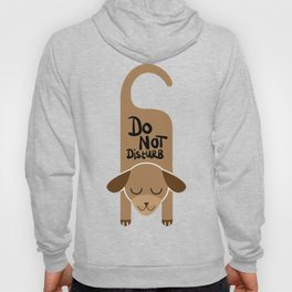 Do Not Disturb Dog Gift Hoody
