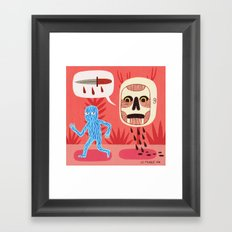 Nightmare Framed Art Print