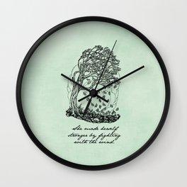 The Secret Garden - She Made Herself Stronger Wall Clock