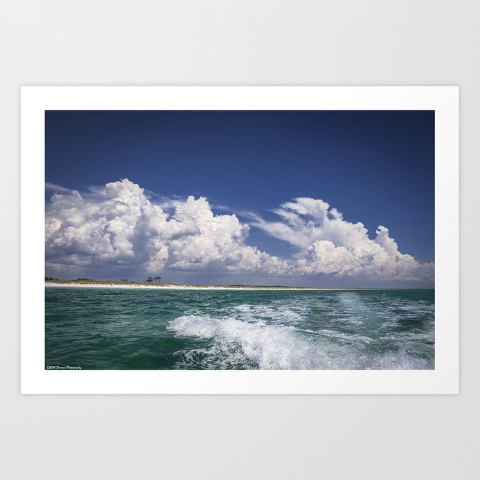 Emerald Coast  Art Print