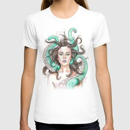 tentacle woman T-shirt