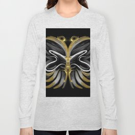 Abstract -Tiger Butterfly Long Sleeve T-shirt