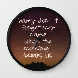 Twilight Wall Clock