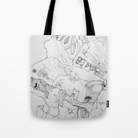 key Tote Bags featuring Key by ℳajd