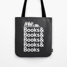 Books & Books & Books Tote Bag