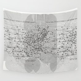The National System of Interstate and Defense Highways, Fleek Wall Tapestry