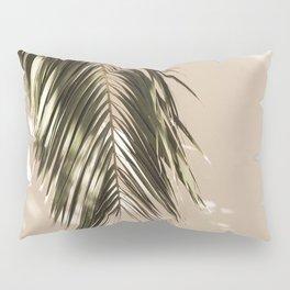 tropical palm leaves vi Pillow Sham
