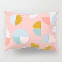 Pretty Geometric Painting Pillow Sham