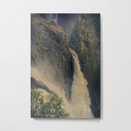 Barron Falls in retro style Metal Print