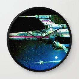 X-wing Starfighter Wall Clock