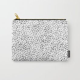 Black and white dots Carry-All Pouch