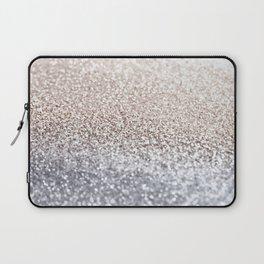 SILVER GLITTER Laptop Sleeve