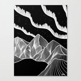 The Lights Canvas Print