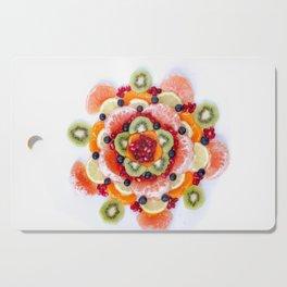 """What the Fruit"" Mandala Cutting Board"