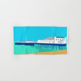 Brighton Pier Hand & Bath Towel