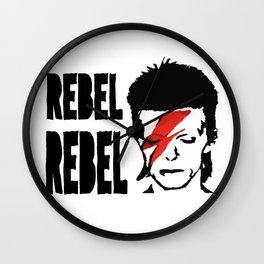 Rebel Rebel Wall Clock