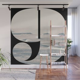 Nr. 9 | Numbers with a View | Typography Letter Art Wall Mural