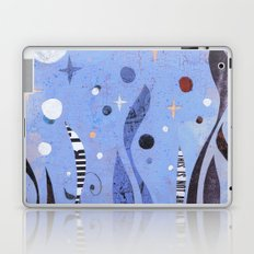 BLUE UNTITLED Laptop & iPad Skin
